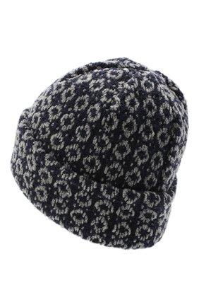 Женская шерстяная шапка BILANCIONI синего цвета, арт. 4907CM | Фото 2