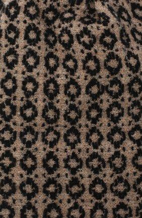 Женская шерстяная шапка BILANCIONI бежевого цвета, арт. 4907CM | Фото 3 (Материал: Шерсть)