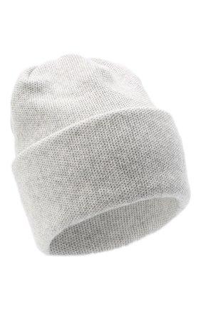 Женская шапка BILANCIONI светло-серого цвета, арт. 4906CM   Фото 1