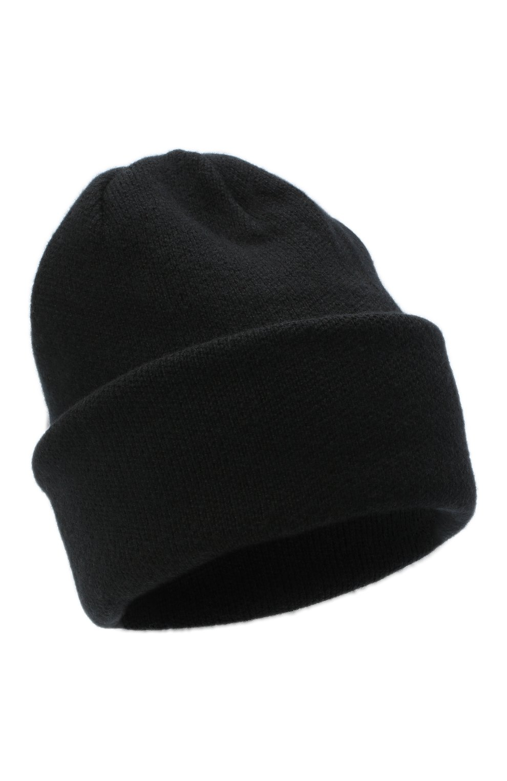 Женская шапка BILANCIONI черного цвета, арт. 4906CM   Фото 1 (Материал: Текстиль, Шерсть, Вискоза)