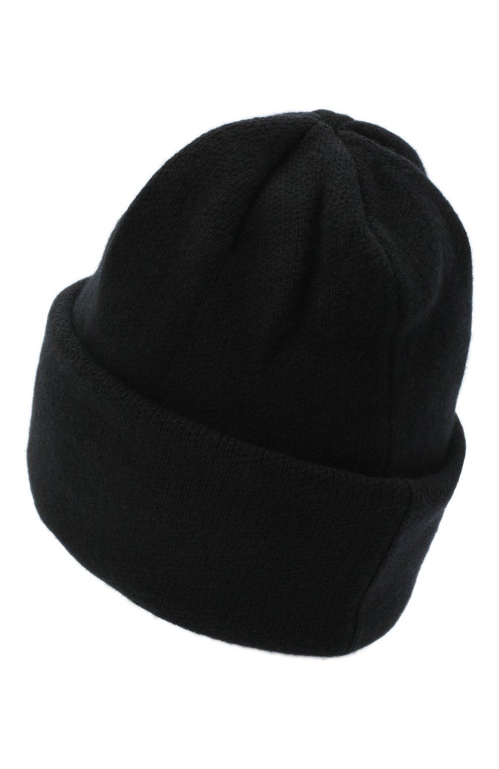 Женская шапка BILANCIONI черного цвета, арт. 4906CM   Фото 2 (Материал: Текстиль, Шерсть, Вискоза)