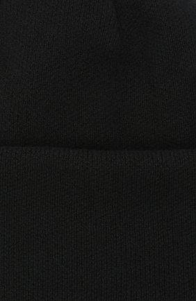 Женская шапка BILANCIONI черного цвета, арт. 4906CM   Фото 3 (Материал: Текстиль, Шерсть, Вискоза)