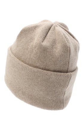 Женская шапка BILANCIONI светло-бежевого цвета, арт. 4906CM | Фото 2 (Материал: Текстиль, Шерсть, Вискоза)