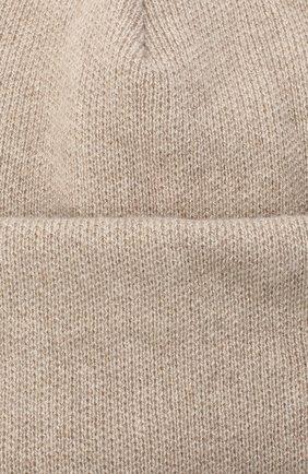 Женская шапка BILANCIONI светло-бежевого цвета, арт. 4906CM | Фото 3 (Материал: Текстиль, Шерсть, Вискоза)