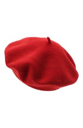 Женский шерстяной берет BILANCIONI красного цвета, арт. 4905CM | Фото 2