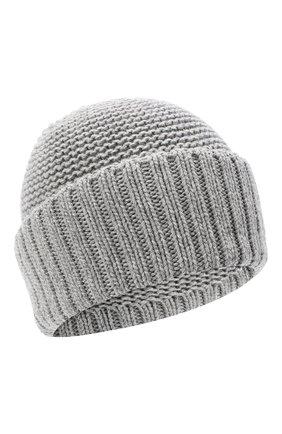 Женская шапка BILANCIONI серого цвета, арт. 4901CM   Фото 1