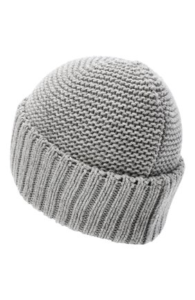Женская шапка BILANCIONI серого цвета, арт. 4901CM   Фото 2