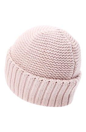 Женская шапка BILANCIONI розового цвета, арт. 4901CM   Фото 2