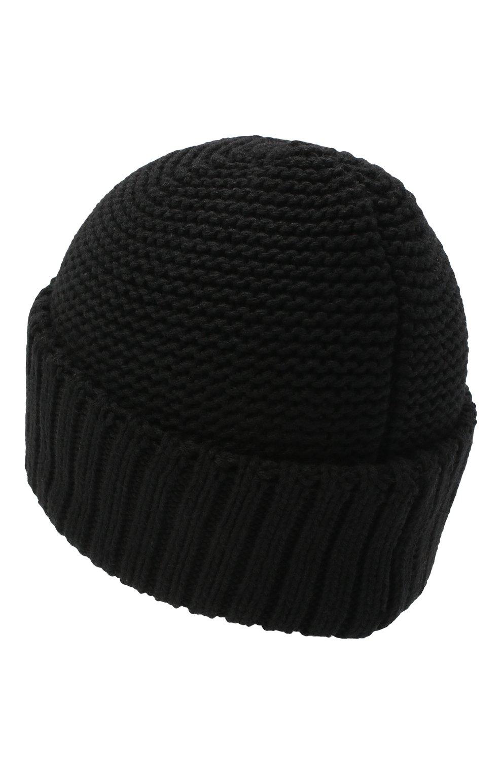 Женская шапка BILANCIONI черного цвета, арт. 4901CM | Фото 2 (Материал: Текстиль, Шерсть, Вискоза)