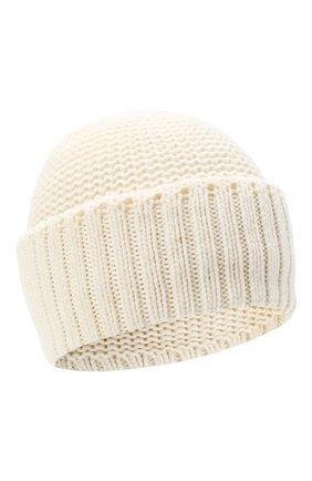 Женская шапка BILANCIONI белого цвета, арт. 4901CM   Фото 1 (Материал: Текстиль, Шерсть, Вискоза)