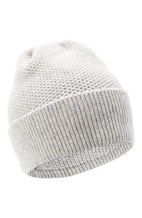 Женская шапка BILANCIONI светло-серого цвета, арт. 4899CM   Фото 1