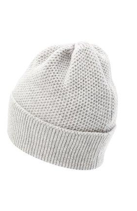 Женская шапка BILANCIONI светло-серого цвета, арт. 4899CM   Фото 2