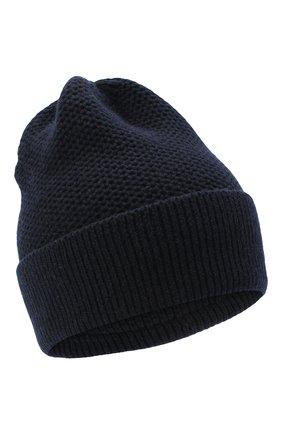 Женская шапка BILANCIONI темно-синего цвета, арт. 4899CM   Фото 1