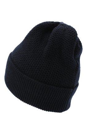 Женская шапка BILANCIONI темно-синего цвета, арт. 4899CM   Фото 2