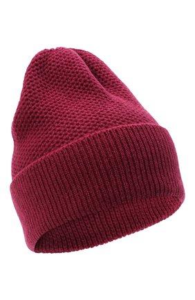 Женская шапка BILANCIONI бордового цвета, арт. 4899CM   Фото 1