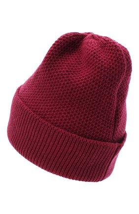 Женская шапка BILANCIONI бордового цвета, арт. 4899CM   Фото 2
