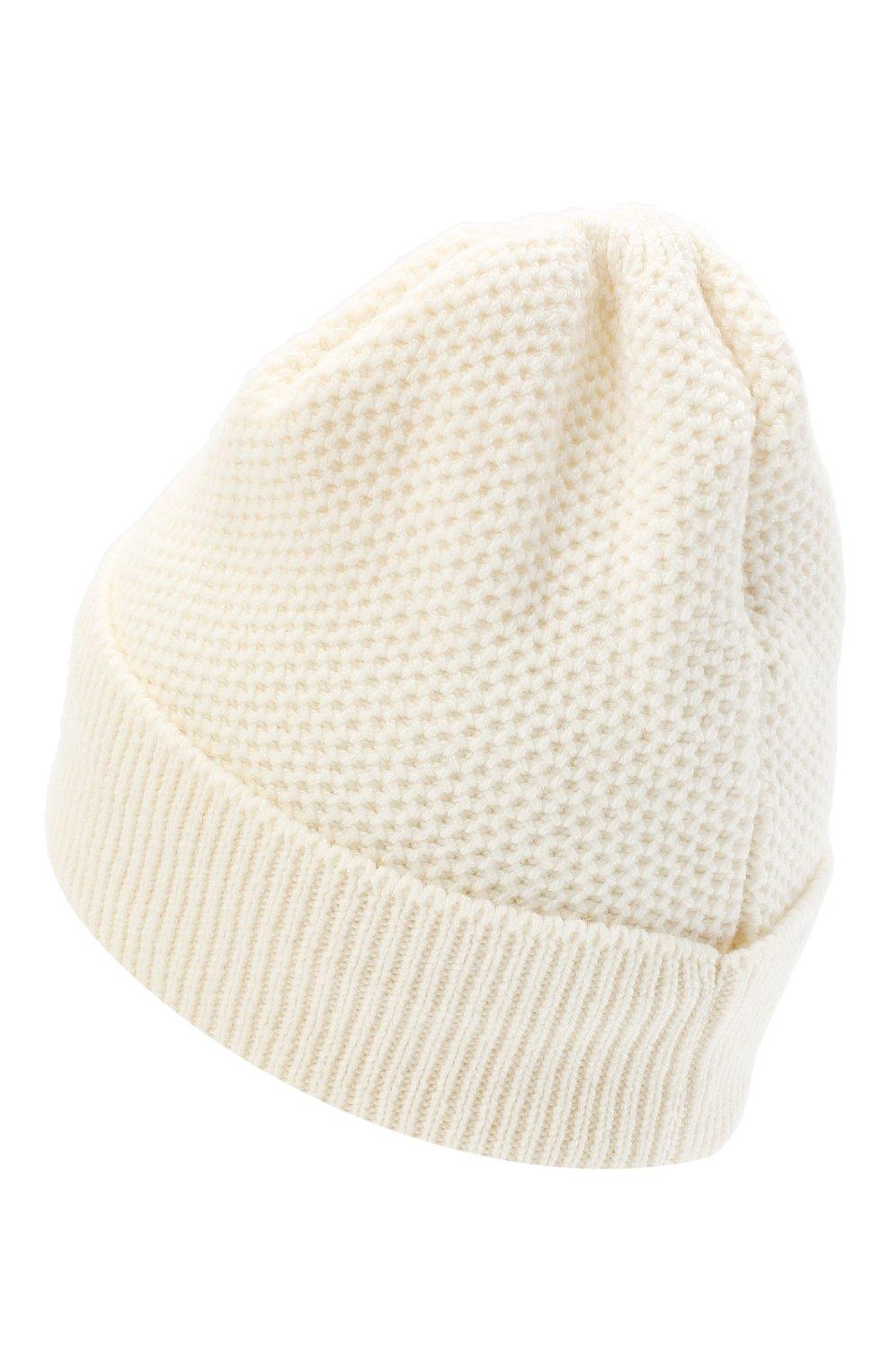 Женская шапка BILANCIONI белого цвета, арт. 4899CM | Фото 2 (Материал: Текстиль, Шерсть, Вискоза)