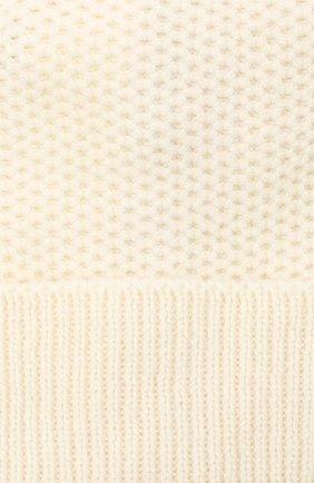 Женская шапка BILANCIONI белого цвета, арт. 4899CM | Фото 3 (Материал: Текстиль, Шерсть, Вискоза)