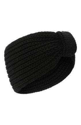 Женская повязка на голову BILANCIONI черного цвета, арт. 4897FM   Фото 1