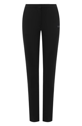 Женские брюки OFF-WHITE черного цвета, арт. 0WCA112R21FAB001   Фото 1