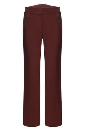 Женские утепленные брюки LORO PIANA бордового цвета, арт. FAL0298 | Фото 1