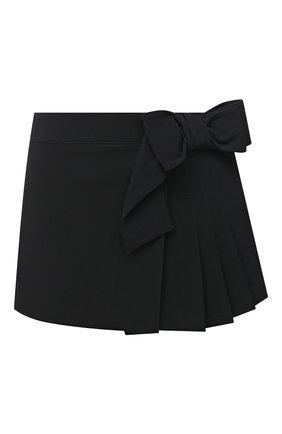 Женская юбка-шорты REDVALENTINO черного цвета, арт. VR3RFE65/2EU | Фото 1