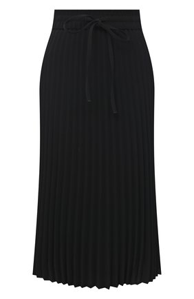 Женская плиссированная юбка REDVALENTINO черного цвета, арт. VR3RAB85/4RA | Фото 1