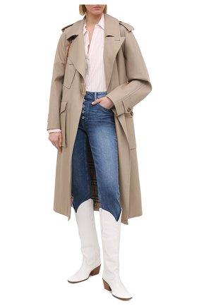 Женские джинсы PAIGE синего цвета, арт. 6916E77-3146 | Фото 2