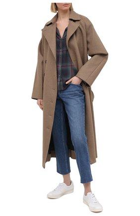 Женские джинсы PAIGE синего цвета, арт. 6690F72-3235 | Фото 2