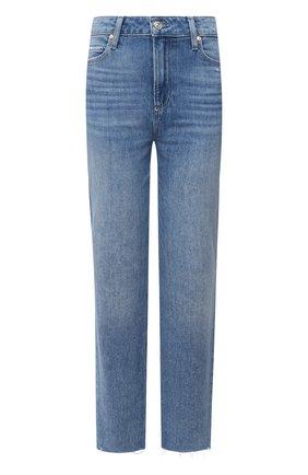 Женские джинсы PAIGE голубого цвета, арт. 6689B61-3147 | Фото 1
