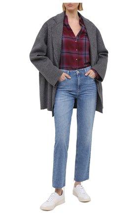 Женские джинсы PAIGE голубого цвета, арт. 6689B61-3147 | Фото 2
