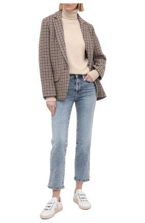 Женские джинсы PAIGE голубого цвета, арт. 6355E77-2600 | Фото 2