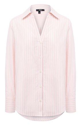 Женская хлопковая рубашка PAIGE розового цвета, арт. 5391G28-8051 | Фото 1