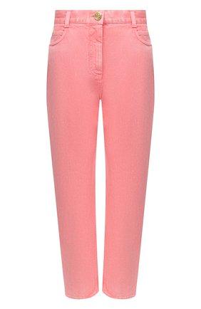 Женские джинсы BALMAIN розового цвета, арт. VF15700/D090 | Фото 1