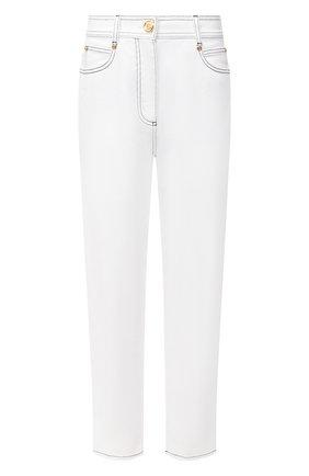 Женские джинсы BALMAIN белого цвета, арт. VF15700/D087 | Фото 1