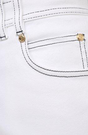 Женские джинсы BALMAIN белого цвета, арт. VF15460/D087 | Фото 5