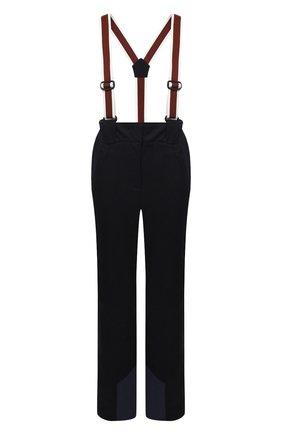 Женские утепленные брюки LORO PIANA темно-синего цвета, арт. FAL0097 | Фото 1