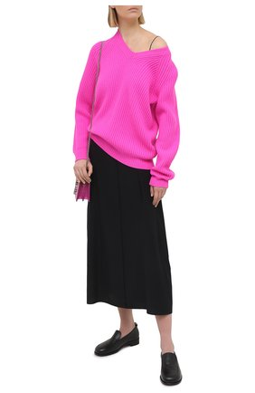 Женский кашемировый свитер TOM FORD фуксия цвета, арт. MAK1048-YAX294   Фото 2
