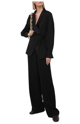 Женский хлопковый жакет BRUNELLO CUCINELLI черного цвета, арт. M0091RN706 | Фото 2