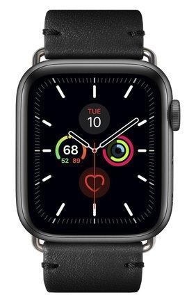 Ремешок для apple watch 44mm NATIVE UNION черного цвета, арт. STRAP-AW-L-BLK   Фото 2