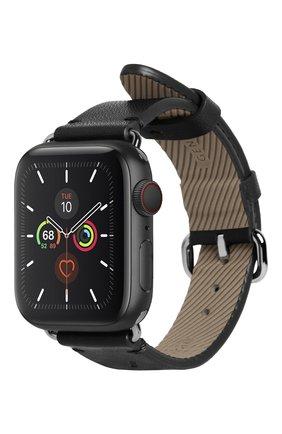 Ремешок для apple watch 40mm NATIVE UNION черного цвета, арт. STRAP-AW-S-BLK   Фото 1