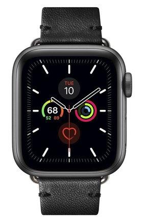 Ремешок для apple watch 40mm NATIVE UNION черного цвета, арт. STRAP-AW-S-BLK   Фото 2