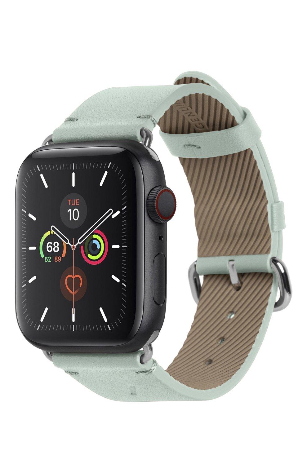 Ремешок для apple watch 44mm NATIVE UNION светло-зеленого цвета, арт. STRAP-AW-L-GRN | Фото 1