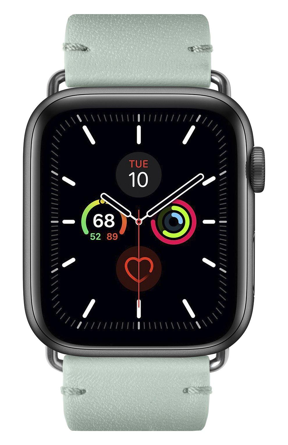 Ремешок для apple watch 44mm NATIVE UNION светло-зеленого цвета, арт. STRAP-AW-L-GRN | Фото 2