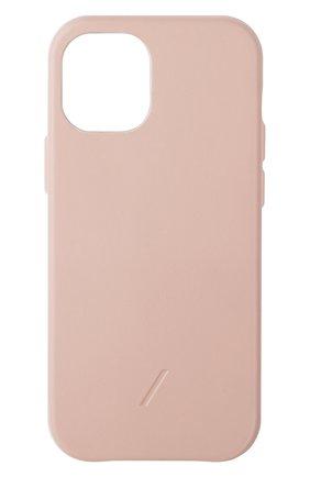 Чехол clic classic для iphone 12 mini NATIVE UNION розового цвета, арт. CCLAS-NUD-NP20S   Фото 1