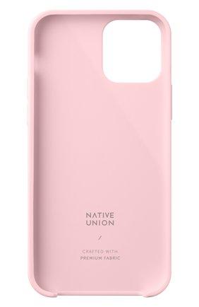 Чехол clic canvas для iphone 12 mini NATIVE UNION розового цвета, арт. CCAV-ROS-NP20S   Фото 2