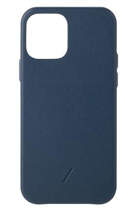 Чехол clic classic для iphone 12/12 pro NATIVE UNION синего цвета, арт. CCLAS-BLU-NP20M | Фото 1
