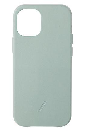 Чехол clic classic для iphone 12 mini NATIVE UNION светло-зеленого цвета, арт. CCLAS-GRN-NP20S   Фото 1