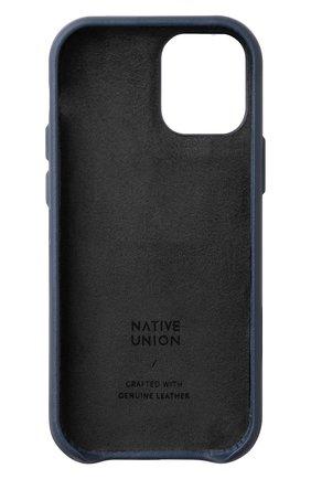 Чехол clic classic для iphone 12 mini NATIVE UNION синего цвета, арт. CCLAS-BLU-NP20S | Фото 2