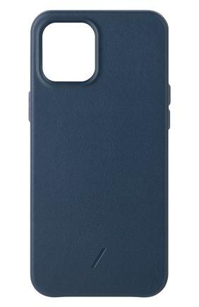 Чехол clic classic для iphone 12 pro max  NATIVE UNION синего цвета, арт. CCLAS-BLU-NP20L   Фото 1